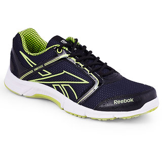 Reebok Men's Gray Lace-up Running Shoes