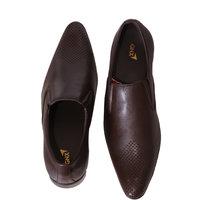 GNX Men's Black Slip-On Casual Shoe
