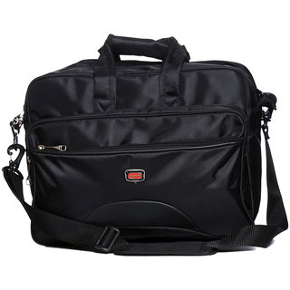 Raeen Plus Grey Expandable  Laptop Bag