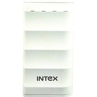 Intex IT-PB-4K Power Bank 4000 mAh - White - 1 Year Manufacturer Warranty