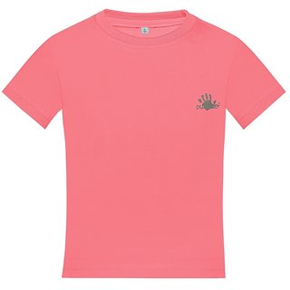 Punkster Cotton Lycra Pink Sleeveless Top For Girls 0212-4