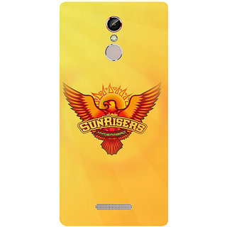 GripIt Sunrisers Hyderabad Case for Gionee S6s