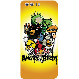 GripIt Angry Birds Printed Case for Huawei Honor 8
