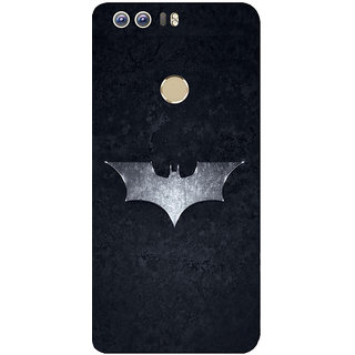 GripIt Batman Logo Printed Back Cover for Huawei Honor 8