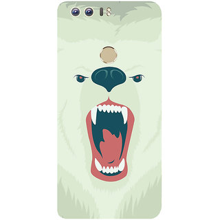 GripIt Polar Bear Printed Case for Huawei Honor 8