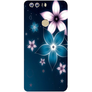 GripIt Shining Flower Printed Case for Huawei Honor 8