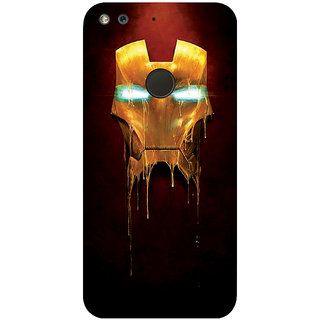 GripIt Ironman Mask Printed Case for Google Pixel