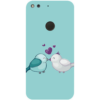GripIt Love Birds Printed Case for Google Pixel
