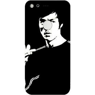 GripIt Bruce Lee Printed Case for Google Pixel XL