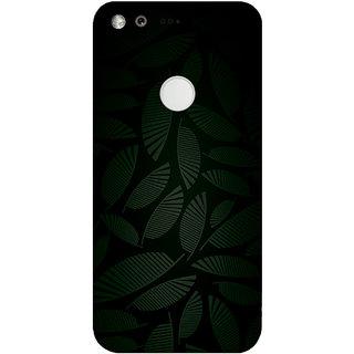 GripIt Dark Tropical Printed Case for Google Pixel XL