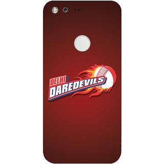 GripIt Delhi Dare Devils (RED) Case for Google Pixel XL