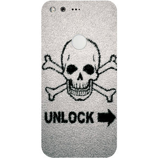 GripIt Unlock Danger Printed Case for Google Pixel XL