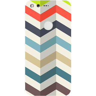 GripIt Zig Zag Printed Case for Google Pixel XL