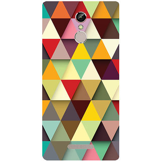 GripIt 3D Triangles Printed Case for Gionee S6s