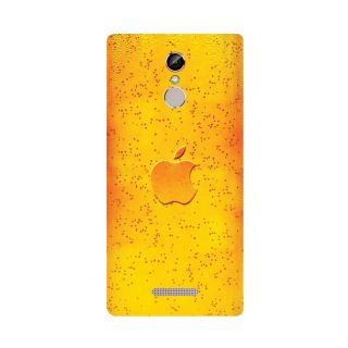 GripIt Apple In Beer Printed Case for Gionee S6s