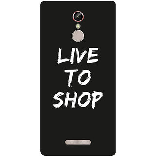 GripIt Live To Shop Printed Case for Gionee S6s