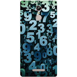 GripIt Mathematics & Digits Printed Case for Gionee S6s