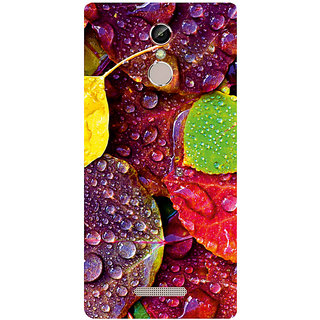 GripIt Rainy Leaves Printed Case for Gionee S6s