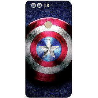 GripIt Captain Shield Printed Case for Huawei Honor 8
