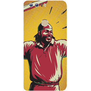 GripIt Chris Gayle Back Cover for Huawei Honor 8