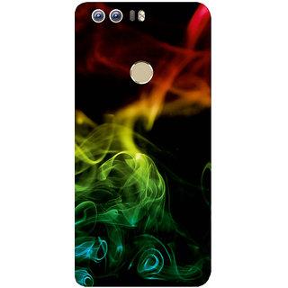 GripIt Club Smoke Printed Case for Huawei Honor 8