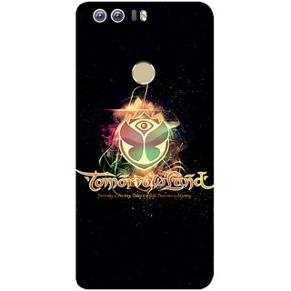 GripIt Tomorrowland Printed Case for Huawei Honor 8