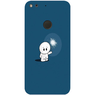 GripIt Alone In The Dark Printed Case for Google Pixel