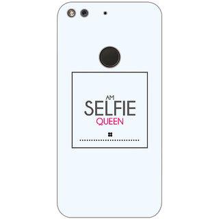 GripIt Selfie Queen Printed Case for Google Pixel