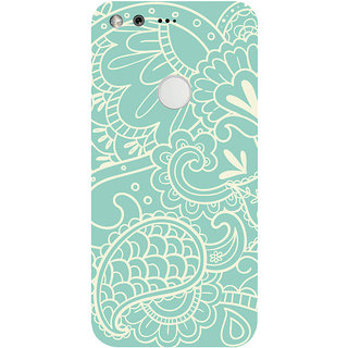 GripIt Nature Paisley Printed Case for Google Pixel XL