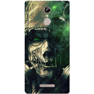 GripIt S Crow Printed Case for Gionee S6s
