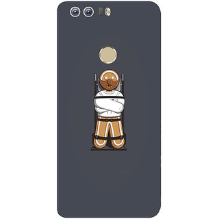 GripIt Gingerbread Hannibal Printed Case for Huawei Honor 8