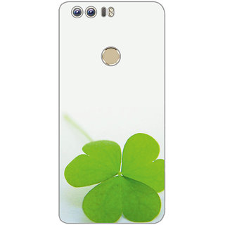 GripIt Leaves Printed Case for Huawei Honor 8