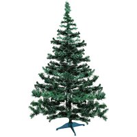 Artificial Christmas Plastic Tree 10 inch with stand set of two