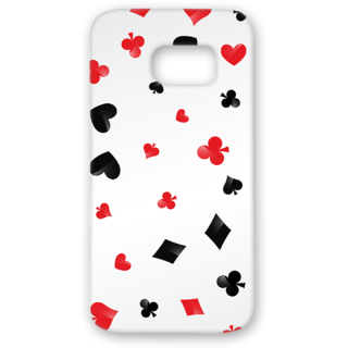 SAMSUNG GALAXY S7 Designer Hard-Plastic Phone Cover from Print Opera - Signs Of Cards