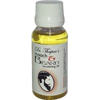 Moustache  Beard Nourishing Oil By Dr. Thapar