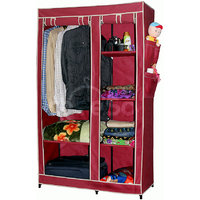 Cbeeso Portable And Foldable Fabric Wardrobe Closet (CB260-MR)