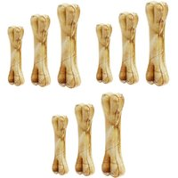 Gold Dust Scoobee 100 Digestible Calcium Treat Chicken Dog Chew (360 G, Pack Of 9)