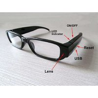 HD DVR 720P Glasses Spy Hidden Camera , Video Recorder Camcorder