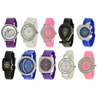 Women Watch Combo Of 10 Piece