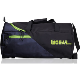 F Gear Explory 36 Liter Travel Duffle Bag (Black Green)