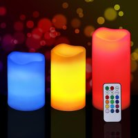 Led Candle With Remote Control