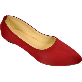 Altek Stylish Plain Red Belly (foot1333red)