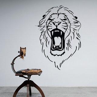Decor Villa The Lion Roar Wall Decal & Sticker