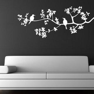 Decor Villa Birds Sitting On Tree Wall Decal & Sticker