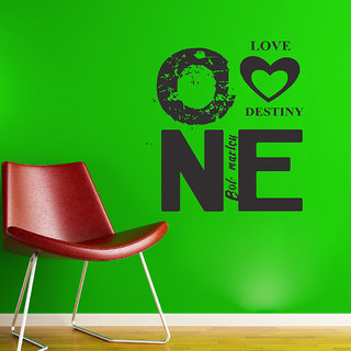 Decor Villa Love Destiny Wall Decal & Sticker