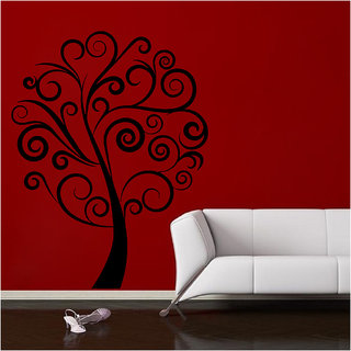 Decor Villa Simple Tree Wall Decal & Sticker