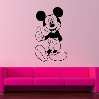Decor Villa Micky Mouse Male Wall Decal & Sticker