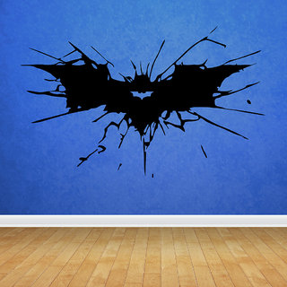 Decor Villa Batman Sign Wall Decal & Sticker