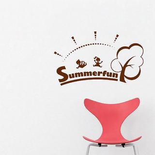 Decor Villa Summer Wall Decal & Sticker