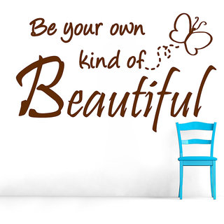 Decor Villa Be Your Own Kind Wall Decal & Sticker